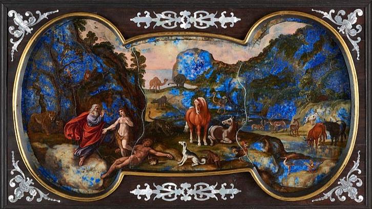 Drágakőre készült festményre bukkantak a múzeumi raktárban